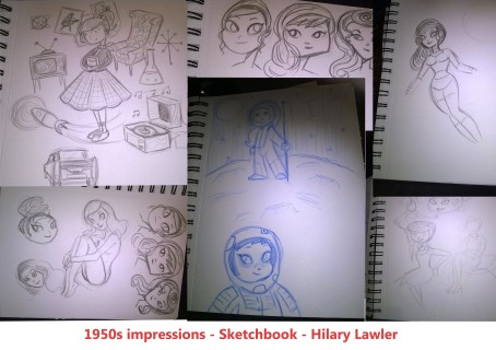 sketchbook collage 2