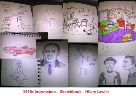 Sketchbook collage
