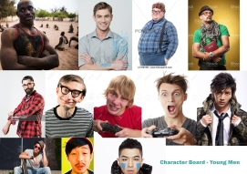 YoungMen_characterboard