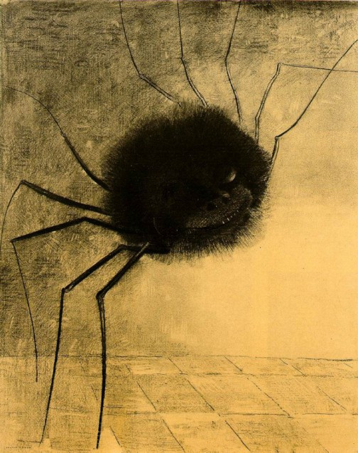 Odilon-Redon_The-Smiling-Spider-e1429567832977
